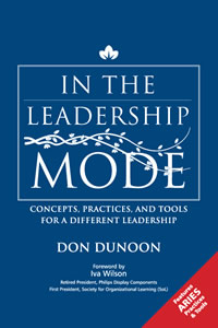 In the leadership mode book cover